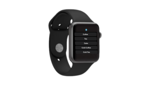 Apple Watch Cafe Ordering App