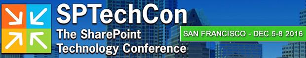 SPTechCon - San Francisco - December 5-8, 2016