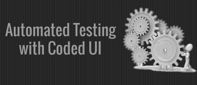 Automation testing using Microsoft Coded UI tool