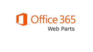 Deploying a Custom Web Part in Office 365