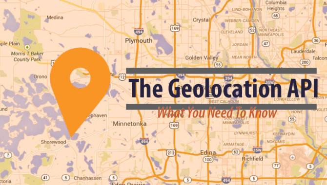 Geolocation API – Milestone Of Location Tracking