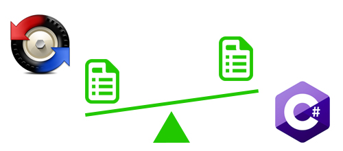 Compare files using Beyond Compare script and C# automatically