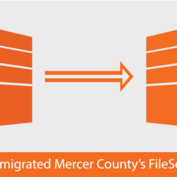 Mercer County's migrated fileserver overnight