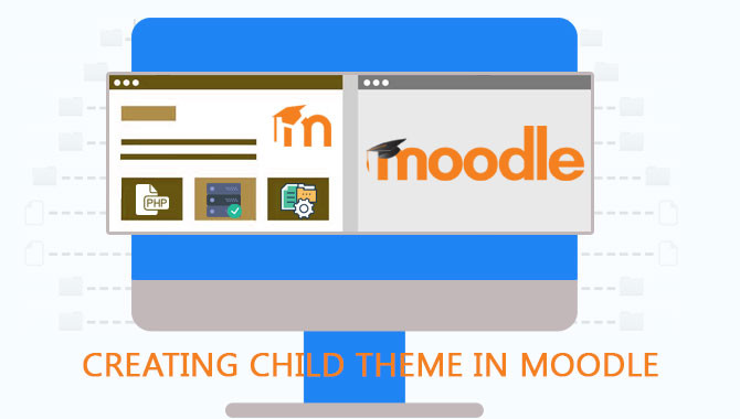 Creating child theme in Moodle