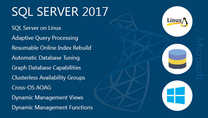 SQL Server 2017 – Bundle with new features