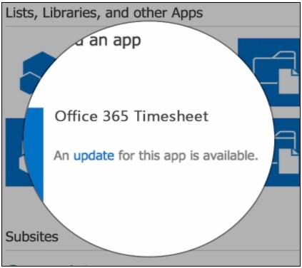 SharePoint Add-In Update