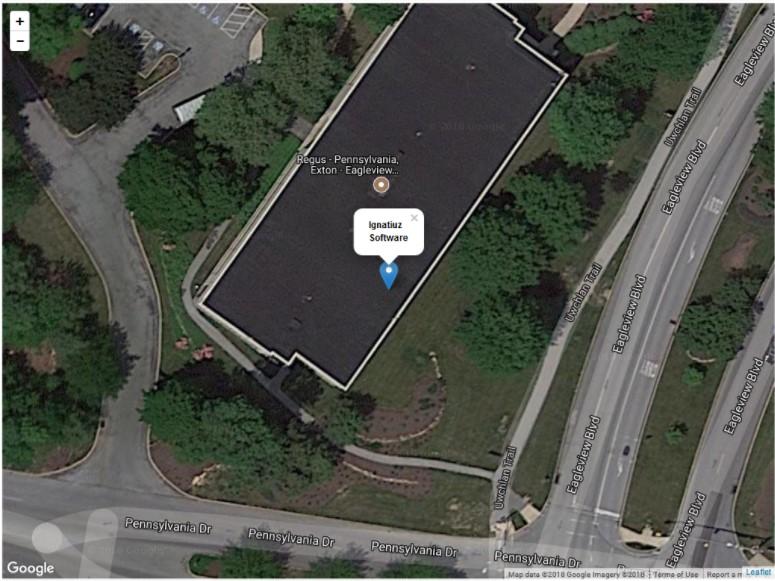 leaflet Marker Information - Google Maps