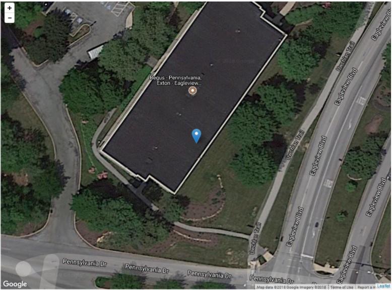 leaflet Marker - Google Maps